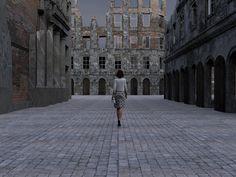 "VICTOR BURGIN ""The Ideal City"" | Lia Rumma | Artsy"