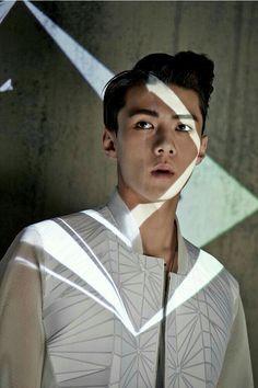 """Exo - Sehun """"He looks like a man // Sehun, Exo K, Rapper, Kim Jong Dae, Korea, Baekyeol, Xiuchen, Exo Members, My Escape"""