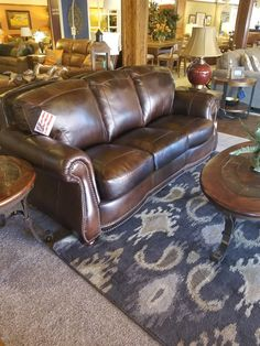 A lovely leather power recliner by Flexsteel as beautiful as it is