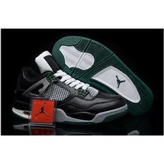 Cheap Air Jordan Jordans Shoes 2013 Coming Out Real Cheap Sale Air Jordan 4 Black White Gorge Green White New Jordans Shoes 2013 [Cheap Air Jordans - Air ...