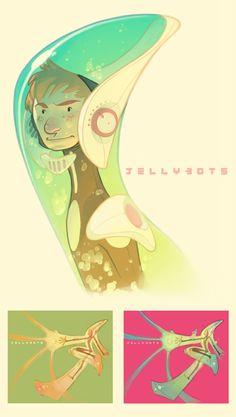 Jellybots. by nicholaskole.deviantart.com on @deviantART