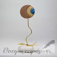 Κεραμικό γούρι μάτι σε πέτρα Christmas Home, Christmas Ideas, Christmas Gifts, Arabian Art, Lucky Charm, Evil Eye, Handicraft, Special Gifts, Charmed