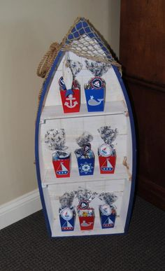 Nautical 1st Birthday party favors