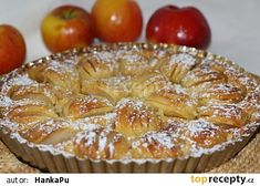 Czech Recipes, Apple Pie, Sweet Recipes, Muffin, Cooking Recipes, Sweets, Cookies, Dishes, Breakfast