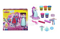 Play-Doh Spin and Style Cinderella Code: 02041 To order: http://www.shopaholic.com.ph/#!/Play-Doh-Spin-and-Style-Cinderella/p/56161151 Use the 5 different colors of Play Doh modeling compound for an incredibly royal look. Features: Make ribbons with the ribbon presser When your gown is complete, spin the Cinderella figure in front of the mirror Set includes base, figure, mirror, ribbon presser, roller, cutter, instructions and 5 cans of Play-Doh Plus modeling compound