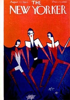 H.O. Hoffman : Cover art for The New Yorker 26 - 15 August 1925