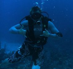 Not your typical #Texas Hobby  #hobbies #scubadiving