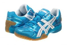 Asics Gel Domain Womens Size 10.5 E052Y-4601 Diva Blue Volleyball Shoes Sneakers #ASICS #VOLLEYBALL