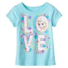 "Disney's Frozen Elsa ""Love"" Tee - Toddler Girl"