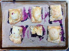 Blueberry Hand Pies. Mom's Kitchen Handbook