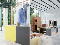 intrieurs de dtail bases pop en euro shop euro shop 2014 hyphyph interior qatar interior interior retail architecture interior basics 2013
