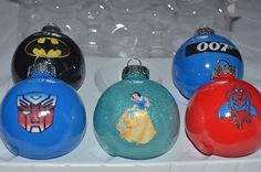 Building Beautiful: Third Day of Christmas: Superhero Ornaments