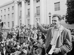 """NPR's Fresh Air: Journalist Seth Rosenfeld spent three decades pursuing government documents about the FBI's undercover operation in Berkeley, Calif., during the student protest movements in the '60s. His new book details how the FBI """"used dirty tricks to stifle dissent on campus"""" and influenced Ronald Reagan's politics."""