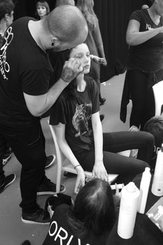 Cat Foley Survival Survival London Fashion Week LFW Fyodor Golan SS16 Backstage Behind the Scenes