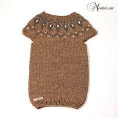 Dress Gudny in light brown
