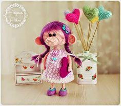 La Magia del Crochet: MUÑECA AMIGURUMI