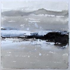 David Ross - Rhu Point (ink on Khadi paper)