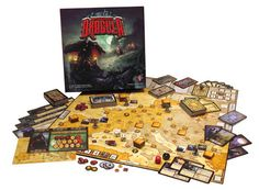 Fury of Dracula- Play the infamous vampire as he travels across Europe wreaking havoc and evading detection or one of the vampire hunters dedicated to bringing him down...