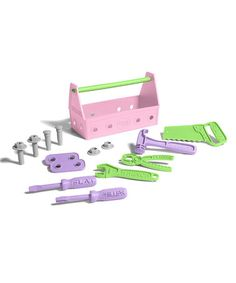 This Pink Tool Set by Green Toys is perfect! #zulilyfinds