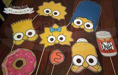 Marco Para Fotos Los Simpsons Cumpleaños 50 X 70 Cm - $ 475,00 en Mercado Libre Simpsons Party, The Simpsons, Simpsons Costumes, 90s Theme, Baby Shower, 9th Birthday, Erotic Art, Party Themes, Party Ideas