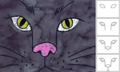 Draw a Cat Face