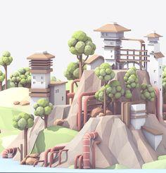 Behance :: Hillside by Timothy J. Reynolds