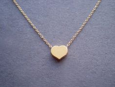 Heart  high quality dainty heart necklace  everyday by Solistar, $24.00
