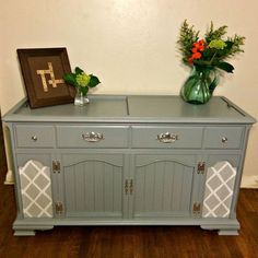 New Life For An Old Stereo Cabinet Painted Furniture Repurposing Upcycling