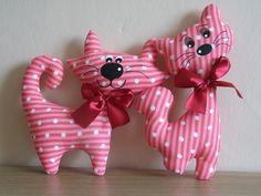 dekorační kočičky