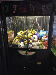 Toy House Rainbow Claw Machine Crane Game Arcade Redemption Sugarloaf