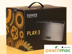 @PeachMac introduces the Sonos brand to their stores! These HiFi wireless speakers and audio components are perfect for any techie on your list this year. #santashopsforsyth