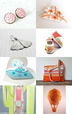 The colors of summer by Évi Csizmadia Lajosné on Etsy--Pinned with TreasuryPin.com