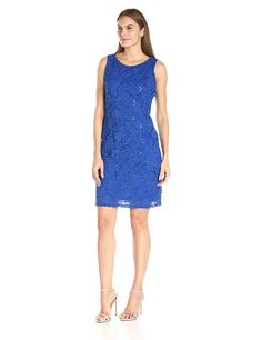 Ronni Nicole Women's Tiered Sequin Lace Dress -- Wow! I love this. Check it out now! : Dresses