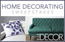 ♥  ♥  would LOVE to WIN ELLE DECOR $50,000 Home Decorating Sweepstakes ! !