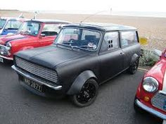 1982 Mini Clubman Estate - Matt black custom