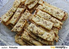 Křehké cuketove tyčinky Apple Pie, Bread, Desserts, Food, Tailgate Desserts, Deserts, Brot, Essen, Postres