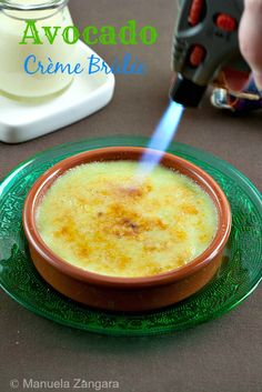 Avocado Crème Brûlée? Yes please! The recipe for an amazing dessert!