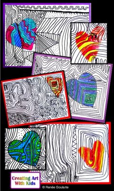 Zentangle Drawing lesson: HeartTangles - fun, relaxing, and free.