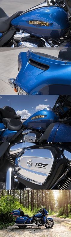 It's all within your reach. You don't have to be big in stature to ride a machine that's big on touring features. The lowest seat height in touring, just 25.6 inches off the ground. | Harley-Davidson Ultra Limited Low