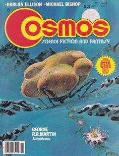 Cosmos Science Fiction And Fantasy.Vol.1 No.4 November 1977. Cover Art. Jack Gaughan