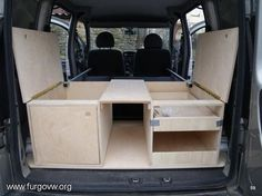 minivan camping conversion - Google Search