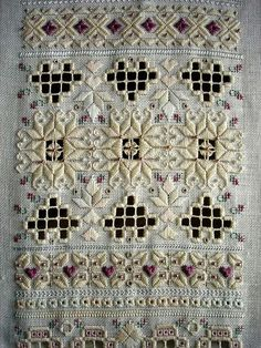 Embroidery Hardanger This post was discovered by Ма Hardanger Embroidery, Beaded Embroidery, Cross Stitch Embroidery, Hand Embroidery, Cross Stitches, Types Of Embroidery, Vintage Embroidery, Embroidery Patterns, Doily Patterns
