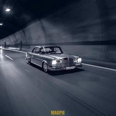 Mercedes Benz – One Stop Classic Car News & Tips Old Mercedes, Mercedes Benz Cars, Mercedes W114, Bmw Classic Cars, Classic Mercedes, Classic Motors, Bmw Cars, Retro Cars, Car Photos