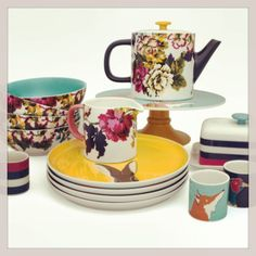 SNEAK PEEK! The complete Joules crockery collection is coming soon... http://www.joules.com/