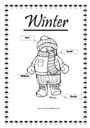 winter clothing flashcards preschool winter clothes worksheet winter outfits winter. Black Bedroom Furniture Sets. Home Design Ideas
