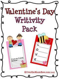 """Do your students love fun writing projects? Do you have a limited amount of writing time & no time for """"crafts""""? This Writivity pack is just the thing to add a little fun to your writing without taking too much instructional time."""
