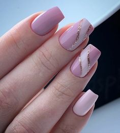 Soft Nails, Fancy Nails, Simple Nails, Gel Nails, Chic Nails, Stylish Nails, Best Acrylic Nails, Acrylic Nail Designs, Nail Art For Girls