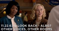 """Thanks for all of your feedback this week!  Hear it all, and more, on the in-depth 11.22.63 A Look Back podcast episode for """"Other Voices, Other Rooms"""".  It's a good one! http://www.goldenspiralmedia.com/alb07-s1e3-11-22-63-other-voices-other-rooms    #112263onHulu, #112263, #StephenKing"""