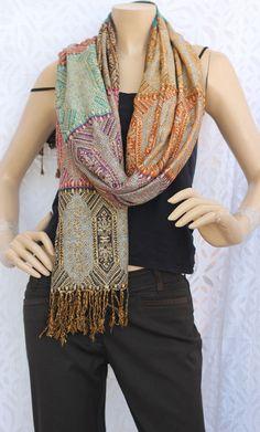 Kantha scarf / Kantha Fabric/ Kantha throw/Vintage by Desipotli