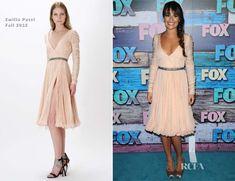 Lea Michele In Emilio Pucci - FOX All-Star Party